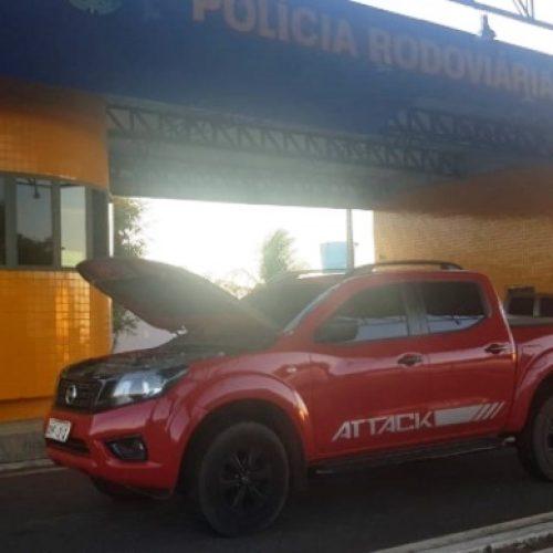 VALENÇA   PRF recupera veículo de luxo roubado e prende dois por receptação e documentação falsa