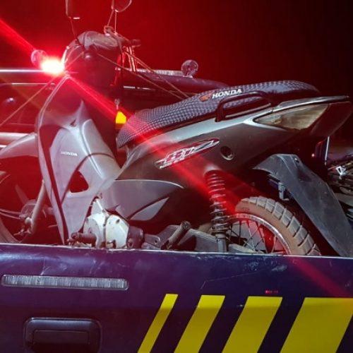 INHUMA | PRF recupera na BR 316 motocicleta roubada no estado do Maranhão