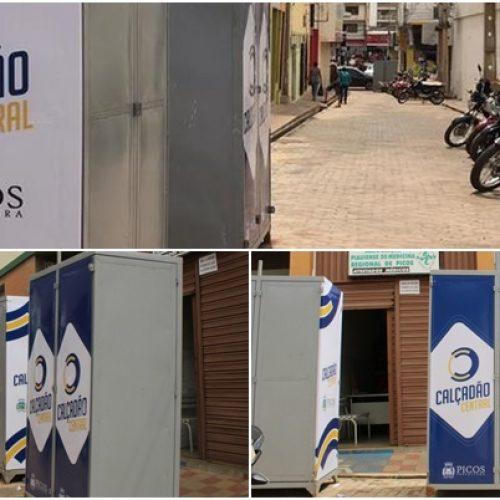 Calçadão para ambulantes será inaugurado dia 12 de agosto em Picos