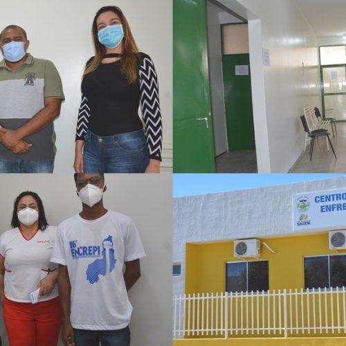 Secretaria de Saúde de Jaicós inaugura Centro de Atendimento para Enfrentamento à Covid-19