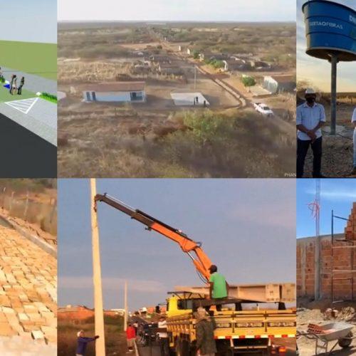 Prefeitura de Jacobina do Piauí investe em importantes obras na cidade e no interior; confira