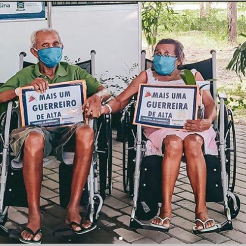 Juntos há 55 anos, casal vence Covid-19 após internação em mesmo hospital no Piauí