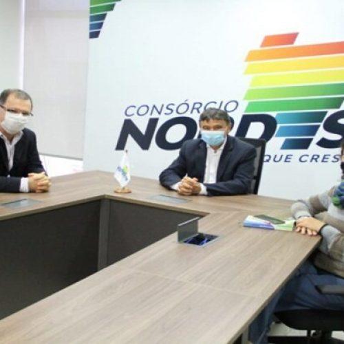 Wellington Dias e representantes do Consórcio Nordeste debatem sobre Saúde e Economia