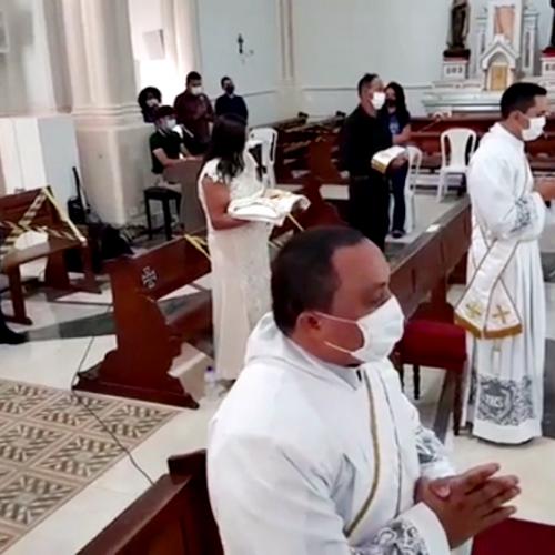 Celebração presbiteral ordena dois padres em Picos