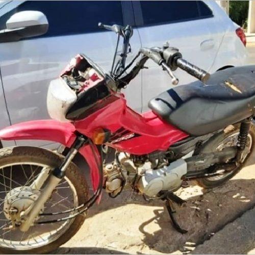 Polícia Militar recupera motocicleta poucas horas após seu furto em Picos