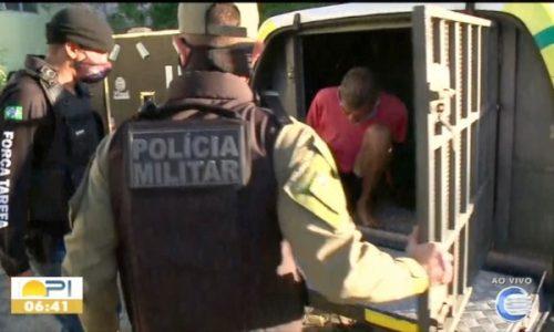 Operação Fênix cumpre mandados de prisão contra suspeitos de tráfico e homicídios em cidade do Piauí