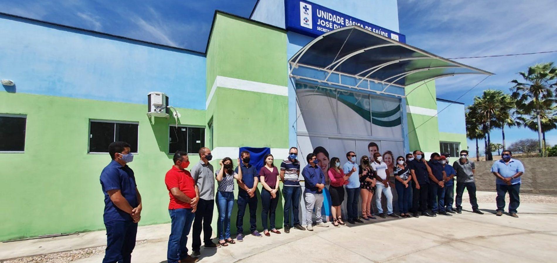 Prefeitura de Massapê do Piauí entrega UBS modelo e escola ampliada na zona rural