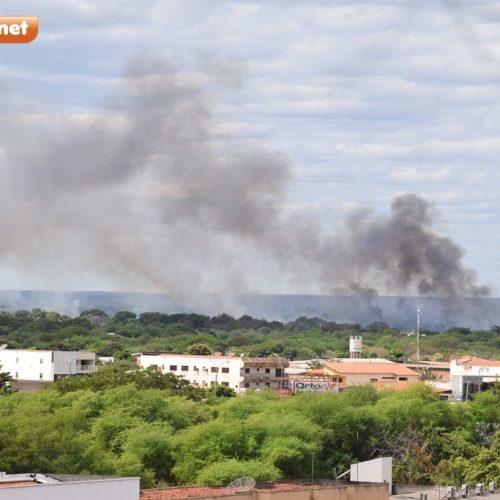 PICOS   Comandante do Corpo de Bombeiros faz alerta sobre consequências das queimadas