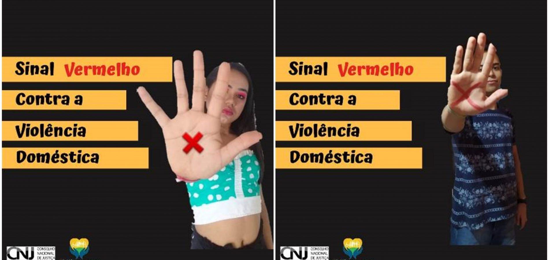 Assistência Social de Geminiano promove campanha virtual sobre violência doméstica contra a mulher