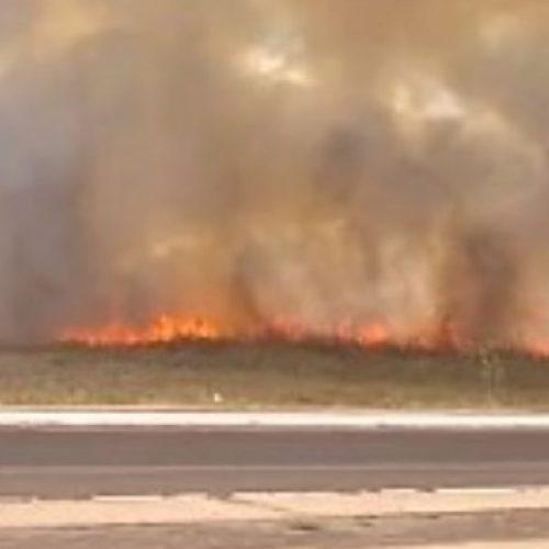 Incêndio de grandes proporções atinge fazenda no Piauí