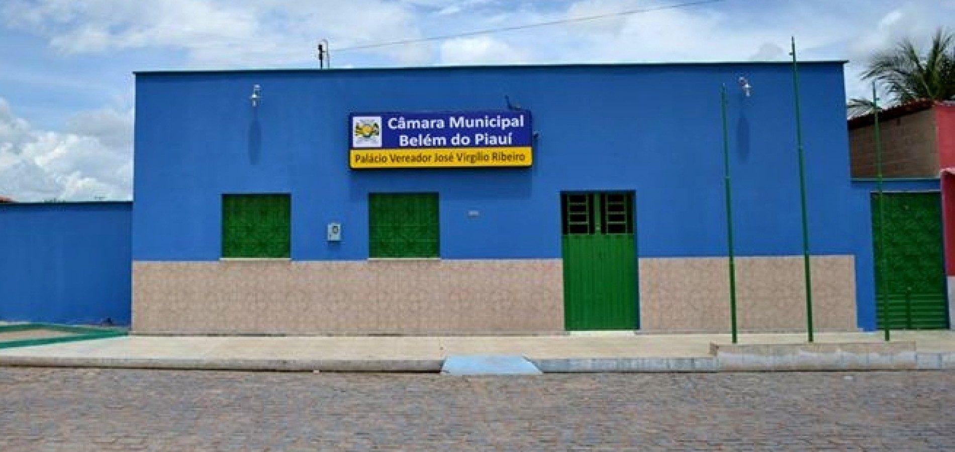 Câmara de Belém do Piauí realiza sessão ordinária nesta sexta-feira (23); veja a pauta