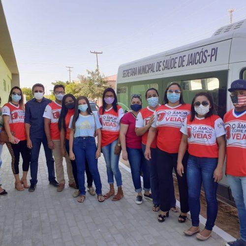 JAICÓS | Campanha leva grupo para realizar doação de sangue no hemocentro de Picos