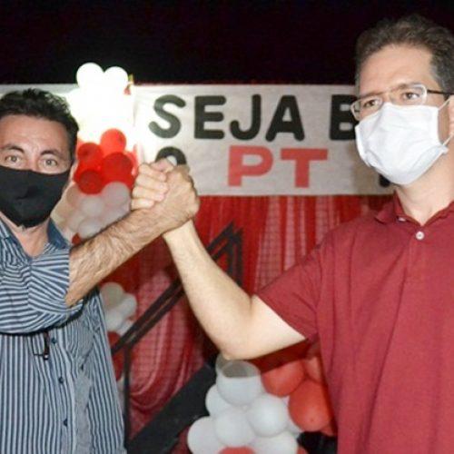 Convenção do PT homologa candidaturas de Mávio Silveira e Edivaldo de Carvalho em Jaicós