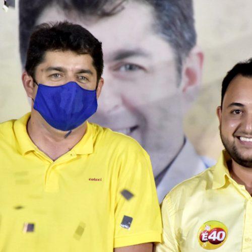Sob forte emoção e alegria, PSB homologa candidaturas de Dr. Samuel e Dr. Leonardo em São Julião; fotos