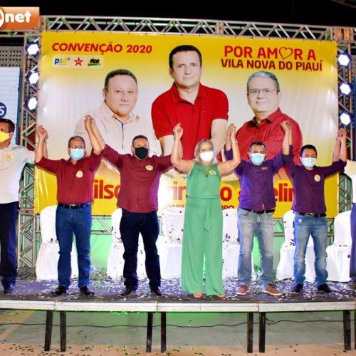 Convenção homologa candidaturas de Edilson Brito e Belim em Vila Nova do Piauí