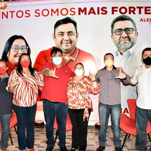 Júnior Sousa anuncia apoio à candidatura de Regina Alencar em Alegrete do Piauí