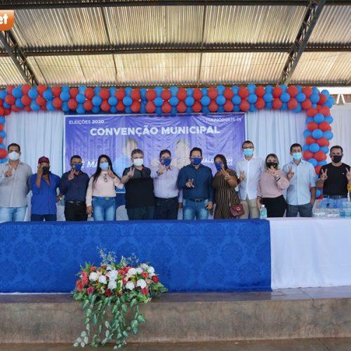 Partidos de oposição homologam as candidaturas deZé Maia e ValdersonDantas em Itainópolis