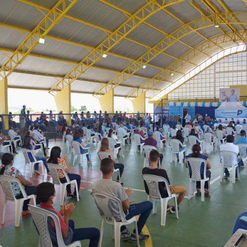 Convenção do Progressistas e PL homologa candidaturas de Valdemiro e Pedim em Patos do Piauí