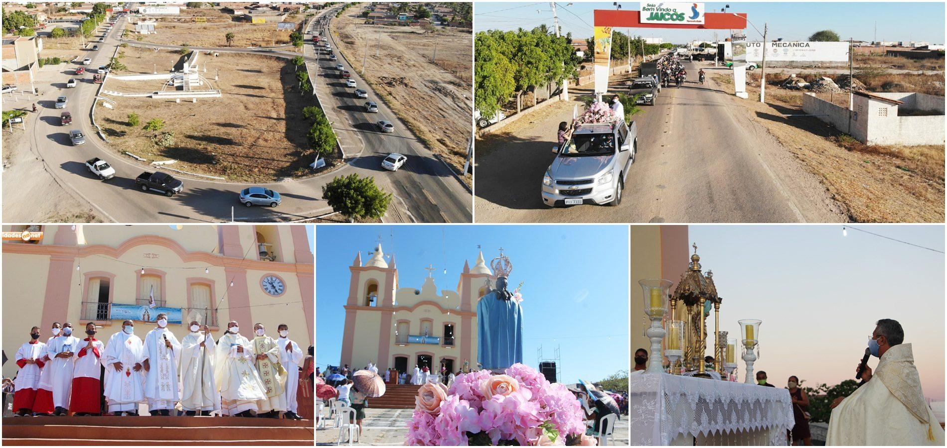 Missa Solene e carreata encerram 297ª Festa de Nossa Senhora das Mercês, em Jaicós