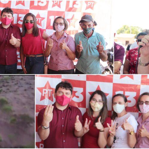 Carreata marca início da campanha de Elvis Ramos e Iolanda Rêgo em Ipiranga do Piauí