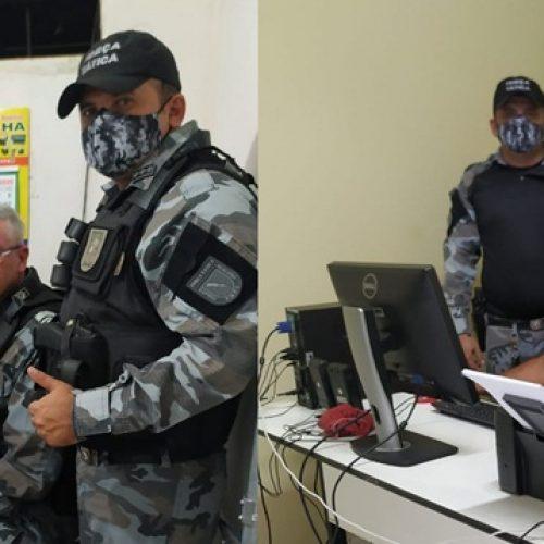 Companhia de Polícia Militar de Jaicós distribui equipamentos de informática para GPMs