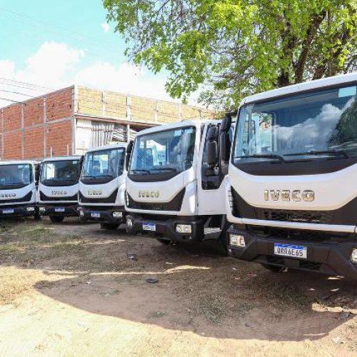 Ciro Nogueira entrega caminhões compactadores para Geminiano e mais quatro municípios do Piauí