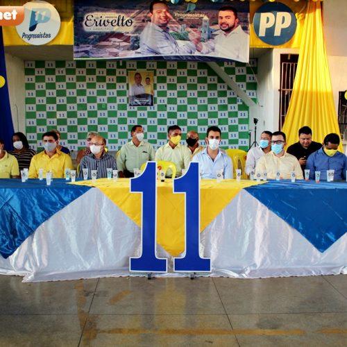 Veja fotos da convenção de homologação das candidaturas de Erivelto e Gilberto Filho em Bocaina