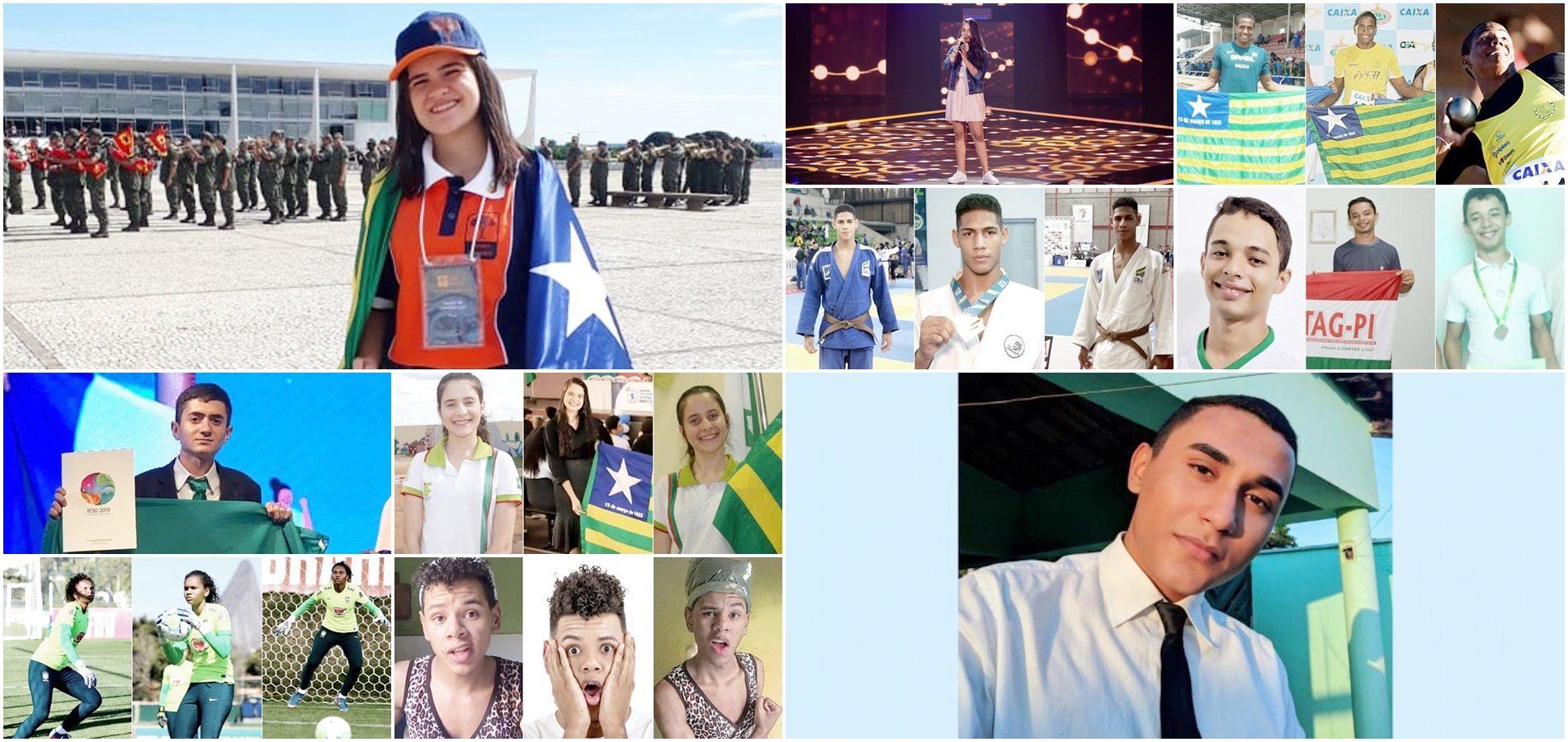 Conheça 10 jovens e adolescentes promissores que orgulham o Piauí
