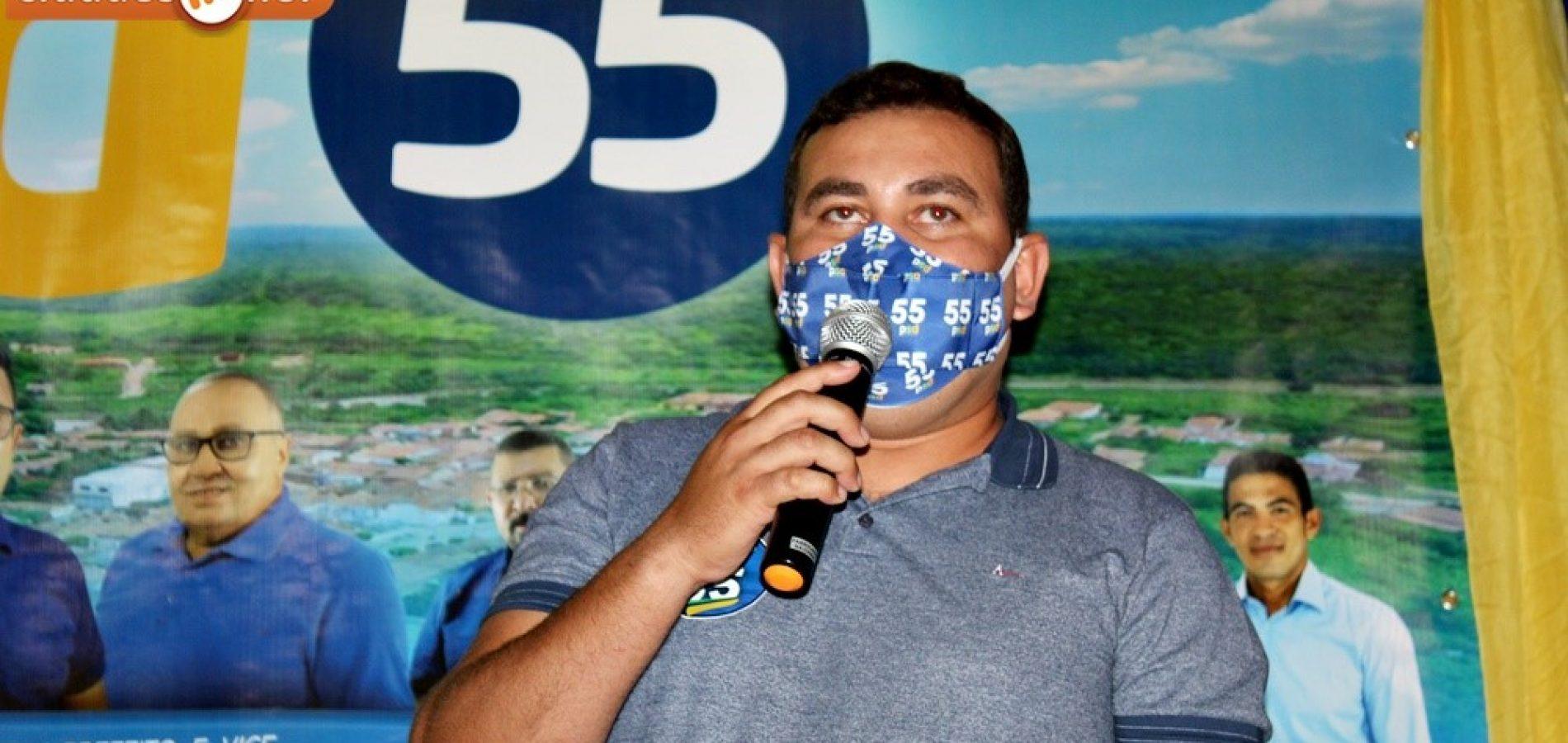 Vereador Lázaro Carvalho tem candidatura homologada pelo PSD e concorre à reeleição em Francisco Macedo