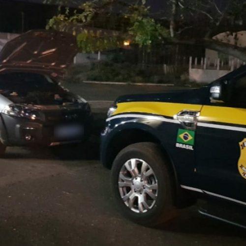 PRF recupera às margens da BR 407 em Bocaina veículo roubado no estado da Bahia em 2018
