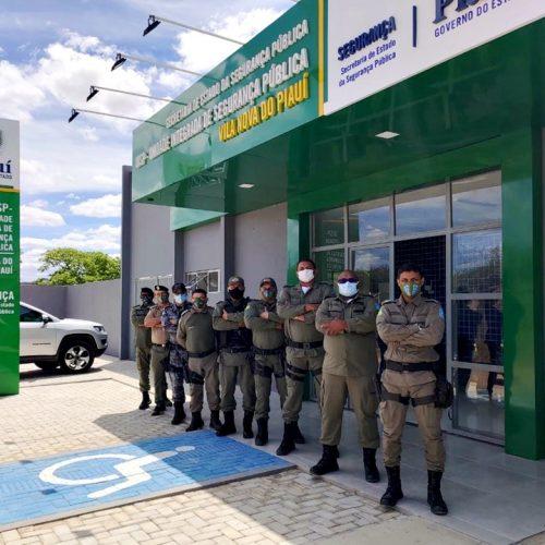 Em Vila Nova, comandantes de polícia da 4ª Companhia da PM discutem estratégias para atuação durante eleições 2020