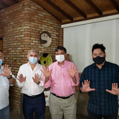 MONSENHOR HIPÓLITO | Convenção vai homologar nomes de Dr. Zenon e cantor Mariozan; Gov. W. Dias declara apoio ao grupo