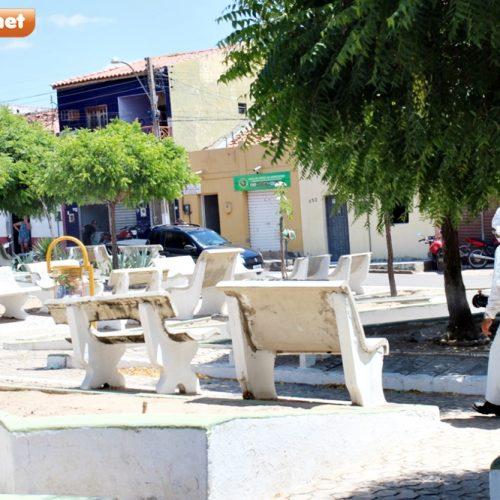 Prefeitura de Alagoinha do Piauí realiza sanitização em espaços e órgãos públicos