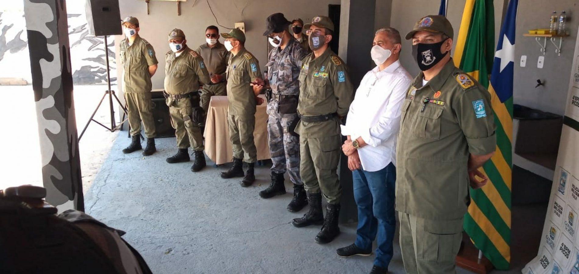 Canil da Polícia Militar de Picos é inaugurado