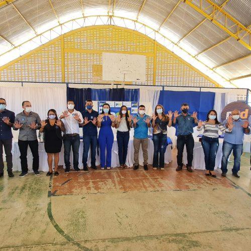 Convenção homologa candidaturas de Filipe Gonçalves e Zulene Leal em Caldeirão Grande