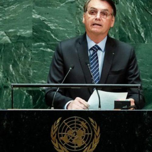 Na ONU, Bolsonaro faz apelo contra 'cristofobia': 'País é cristão e conservador'