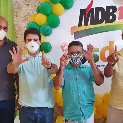 Partidos homologam as candidaturas de Junior de Abel e Cazé em Curral Novo do Piauí