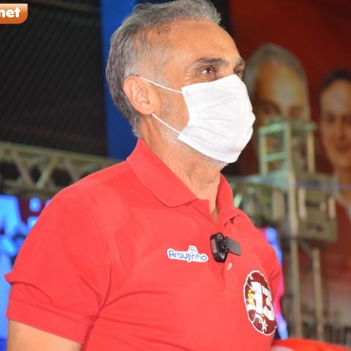 Araujinho anuncia que doará salário de prefeito para caridade