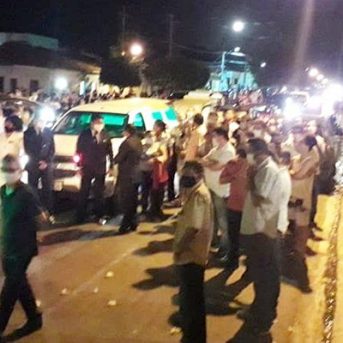 Santa Cruz do Piauí e região se despedem do médico Alcides Neto