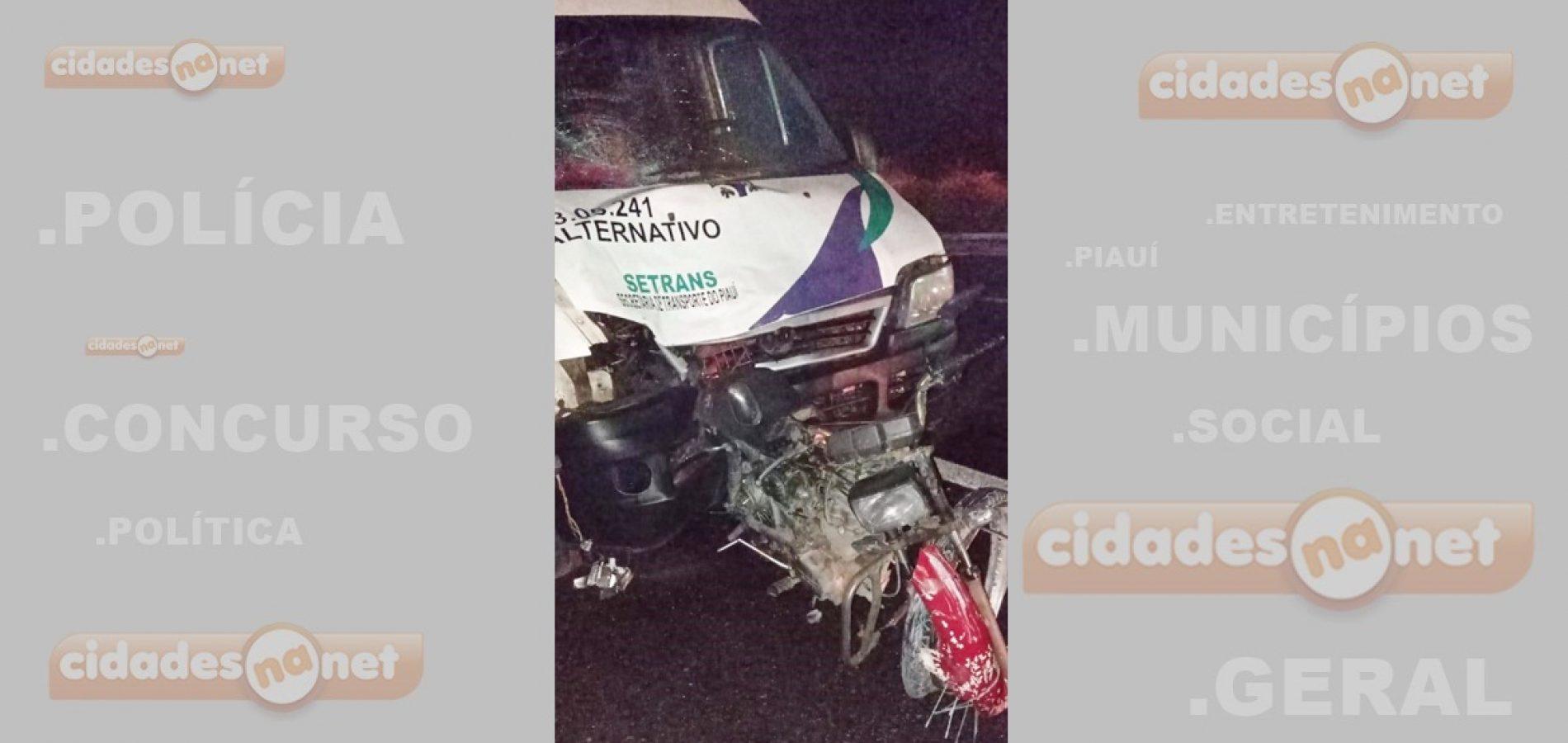 Proprietário de pizzaria em Pio IX morre após ser atropelado por van na BR-020