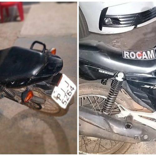 PICOS | Polícia Militar recupera moto roubada e apreende armas brancas com uma suspeita