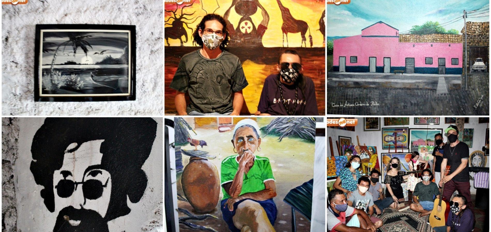 Ateliê Arte em Tela completa 04 anos de representação artística no povoado Fátima em Picos; fotos