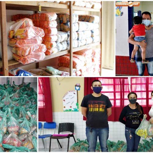 Educação de Vila Nova do Piauí realiza 4ª etapa de distribuição de merenda escolar