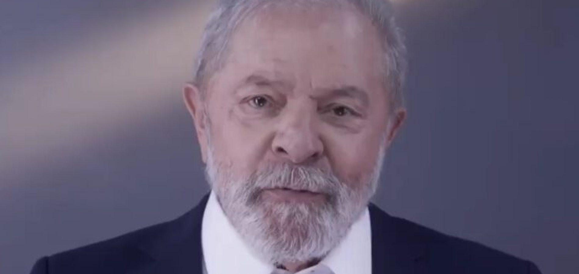 """""""O Brasil pode voltar a ser um país de todos"""", diz Lula em vídeo"""