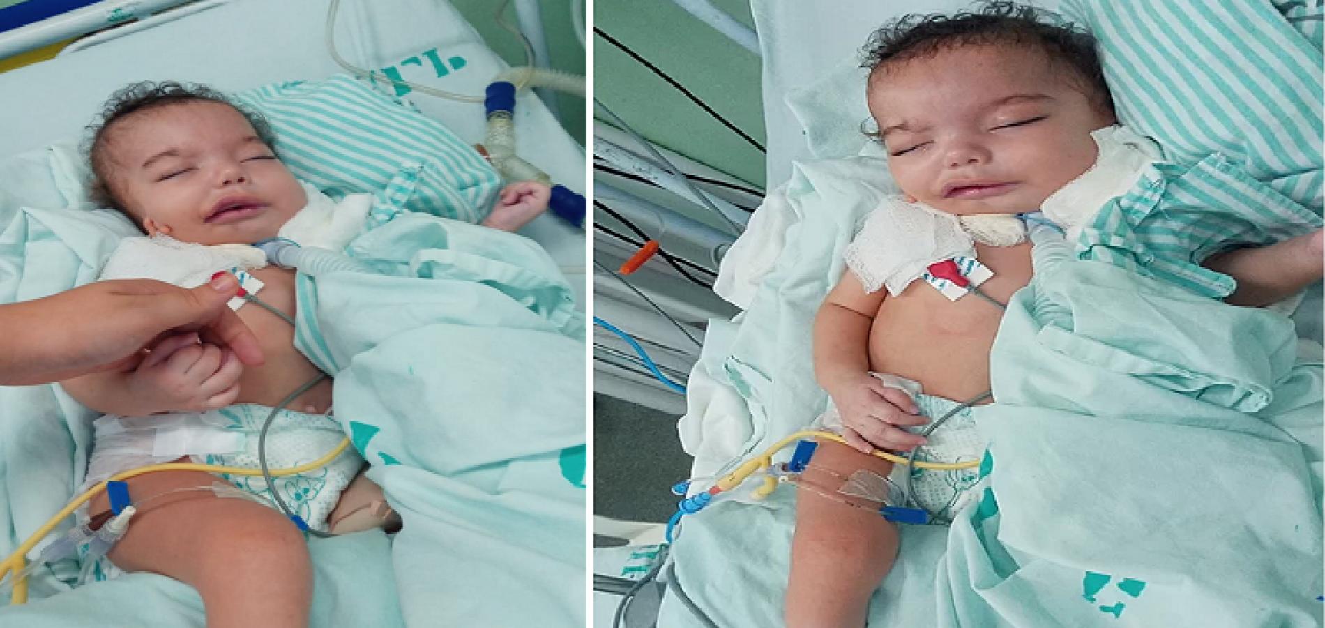 No Piauí, mãe pede ajuda para montar UTI para bebê que mora em hospital desde que nasceu