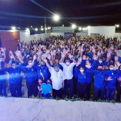 Médicos Dr. Tico e Dr. Elias homologam candidaturas em Campo Grande do Piauí