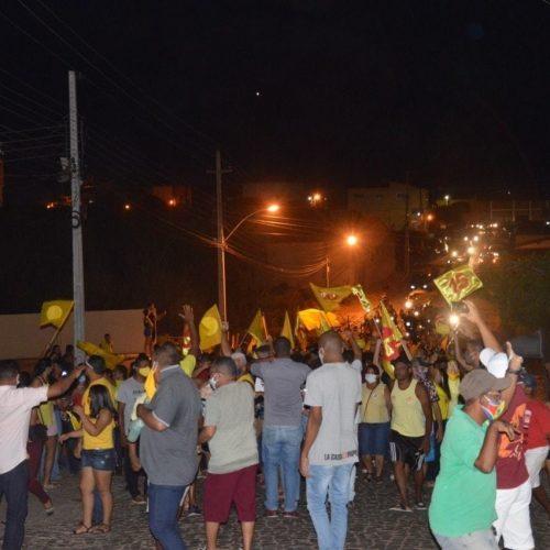 Candidatos descumprem medidas de prevenção à Covid-19 e são alvos de ação no Piauí