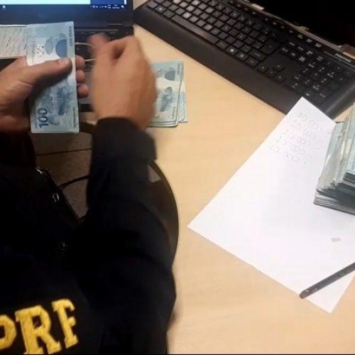 Homem é preso com mais de R$ 54 mil em dinheiro de origem não declarada no Piauí