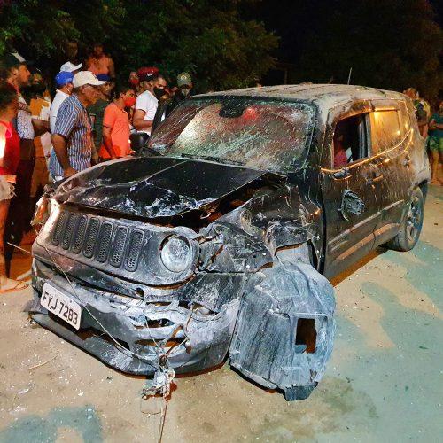 Dois homens são executados  em perseguição na cidade de Campo Grande do Piauí