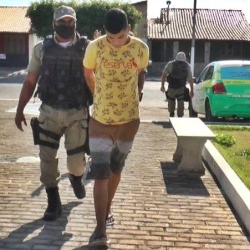 Jovem é preso após ostentar dinheiro de roubos nas redes sociais no Piauí